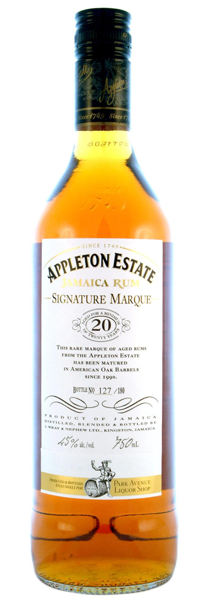 Appleton Estate 20 Year Signature Marque Image